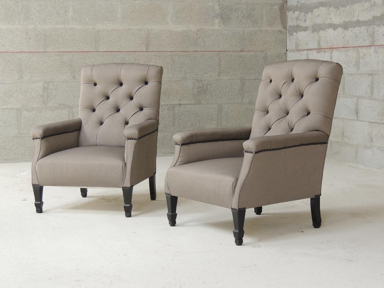 fauteuil anglais vanessa camisuli. Black Bedroom Furniture Sets. Home Design Ideas